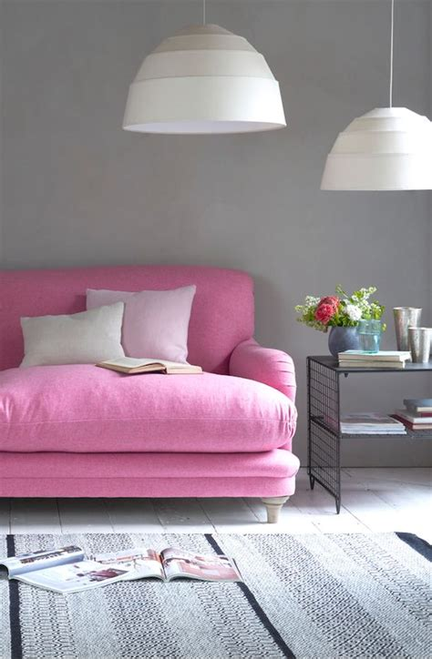 bright pink sofa 1000 ideas about bright colored bedrooms on pinterest