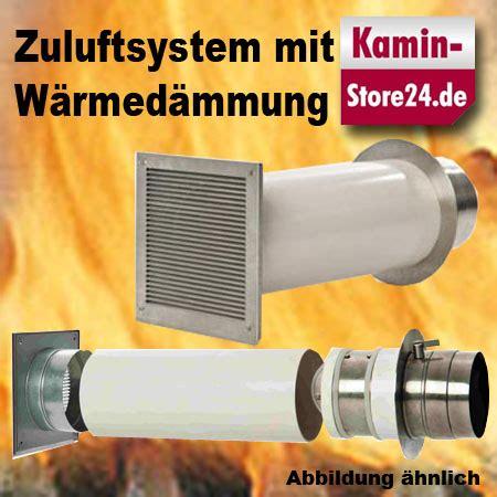 Externe Zuluft Kaminofen by Verbrennungsluft Sytem Doppelklappe Zuluftkanal 80 100