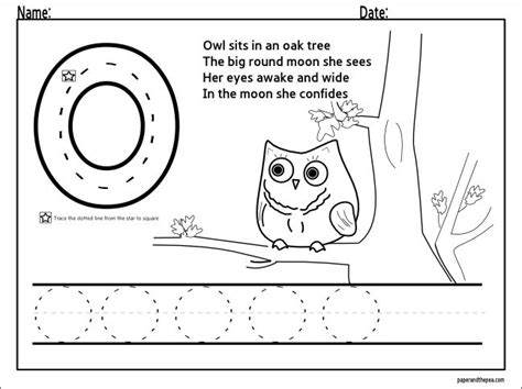 printable tracing letter o 1000 images about letter o on pinterest preschool