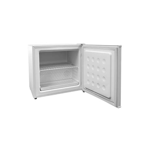 bench top freezer cookology mfz32wh table top mini freezer in white a