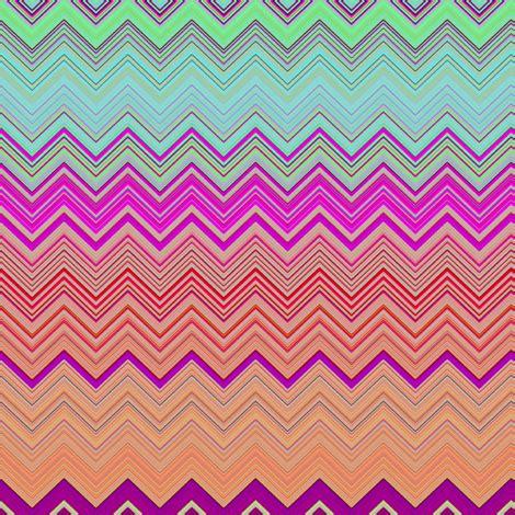 Chevron Harmony fruit salade harmony chevrons 2 zigzag fabric paysmage