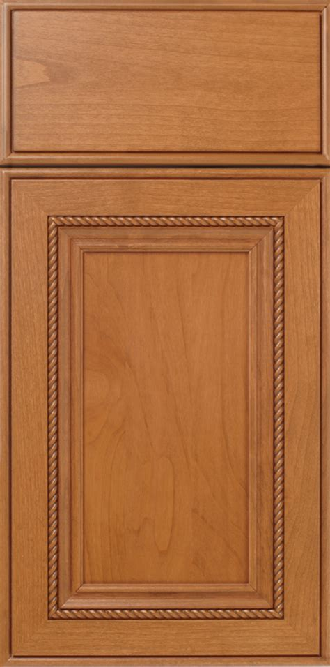 rope applied molding mitered cabinet door walzcraft
