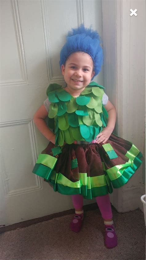 birthday themed halloween costumes branch troll inspired tutu outfit kids costumes and