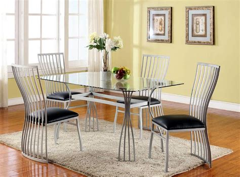 Breakfast Dining Table Sets Decosee Com Dining Table Set Steel