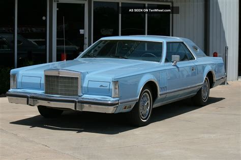 2 Door Lincoln by 1978 Lincoln Continental Hardtop 2 Door 6 6l 400 Cubic Inch