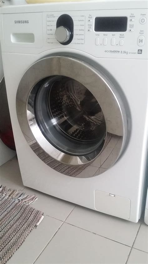 Mesin Cuci Samsung Eco 8 5 Kg samsung eco 8kg washing machine wf1804wpc with a free gift secondhand my
