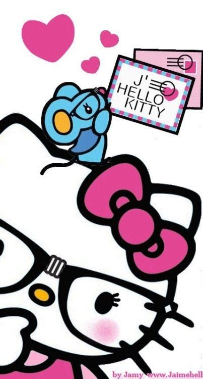 hello kitty nerd iphone wallpaper 87 best hello kitty cell phone wallpaper images on