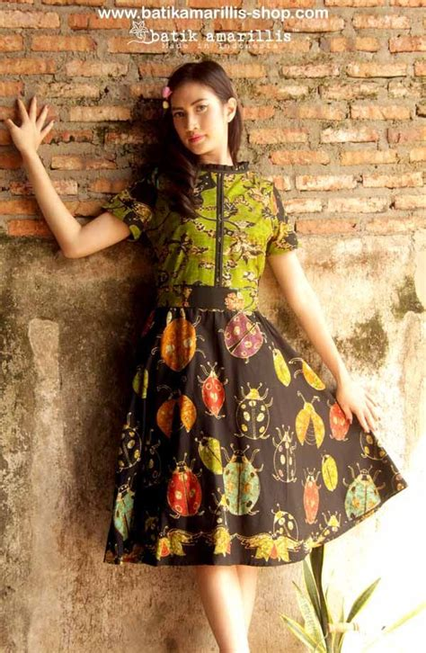 Dress Batik Anak Obral 1 batik amarillis s rive gauche dress www batikamarillis shop elegantly beautiful timeless