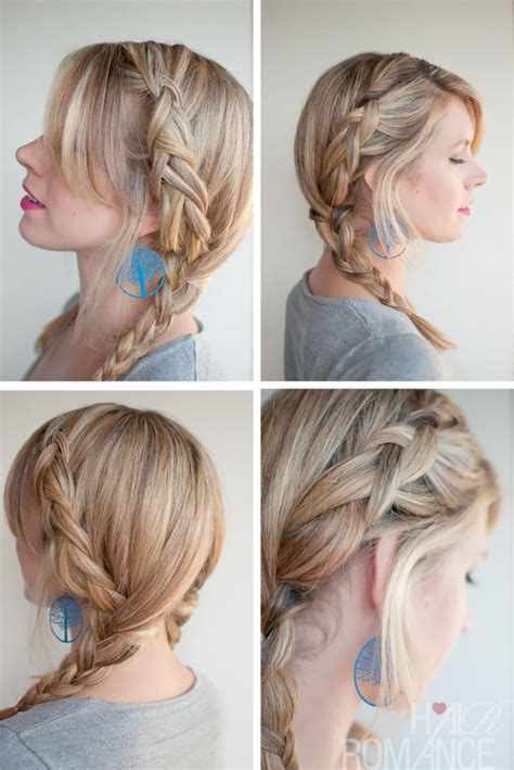 french braid pigtails instructions 30 braids in 30 days day 8 hair romance