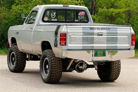 Dodge Power Ram Rod Dodge Power Ram Up Truck 4x4 Runs Great