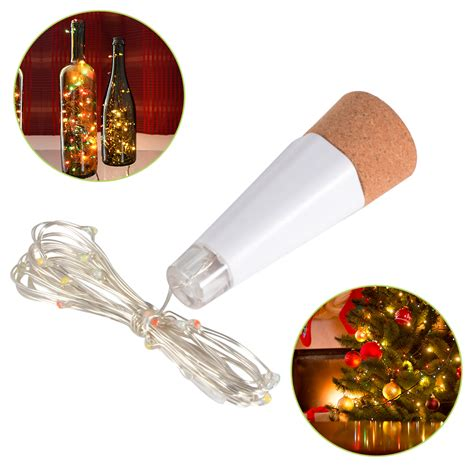 cork shaped rechargeable led bottle light usb rechargeable cork shaped bottle light led copper wire