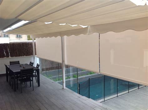 cortinas exteriores enrollables cortinas enrollables de exterior ideas decoradores