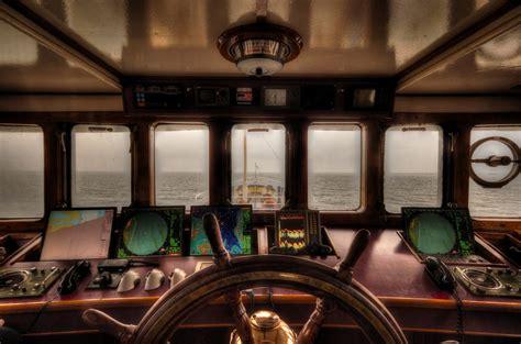 fishing boat captain salary boat steering wheelhouse 183 free photo on pixabay