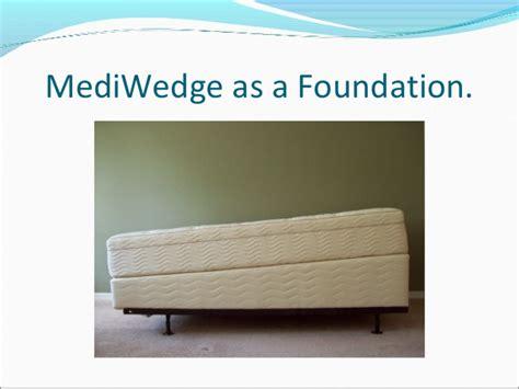 wedge to raise head of bed medi wedge inc presentation ibc