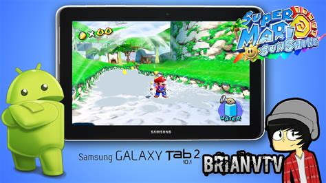 mario for android mario on android tablet quot samsung galaxy tab 2 10 1 quot