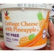 stop shop cottage cheese with pineapple small curd