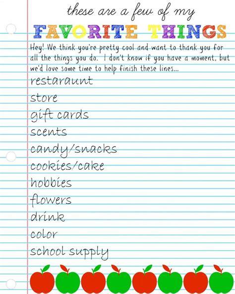 favorite things list template best 25 favorite things ideas on