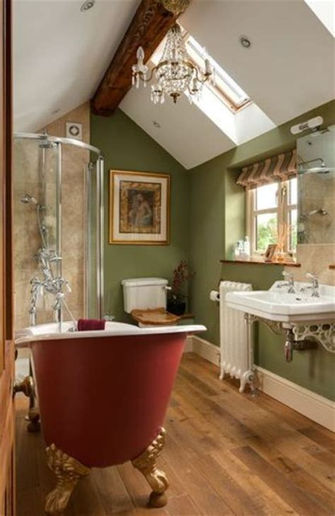 sage green bathroom accessories 27 daring red and green interior d 233 cor ideas digsdigs
