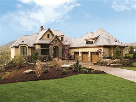 european country homes eplans european house plan european estate 4357 square