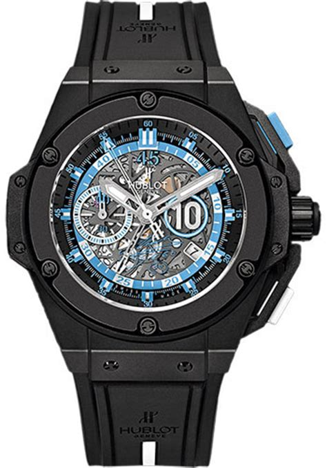 Hublot King Power Unico Black Swiss Eta 11 hublot big king power 48mm maradona watches