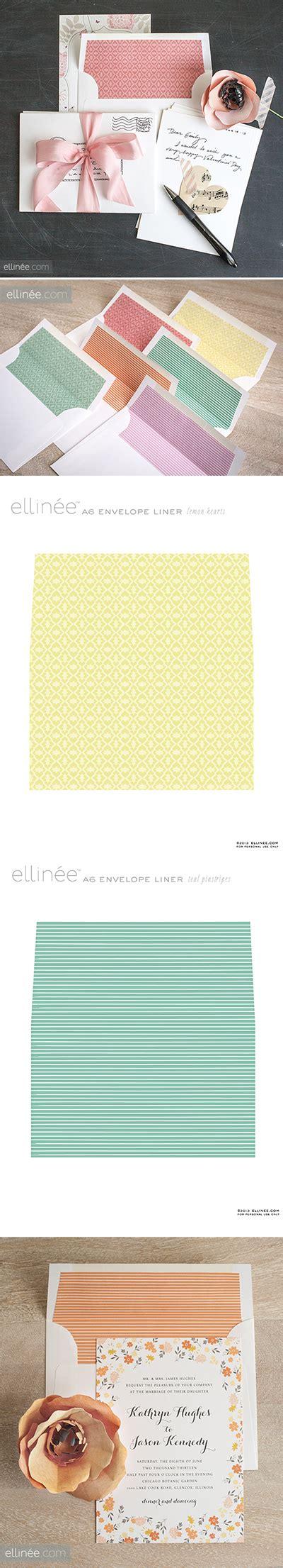 patterned envelope liners free printable stripe heart patterned envelope liners