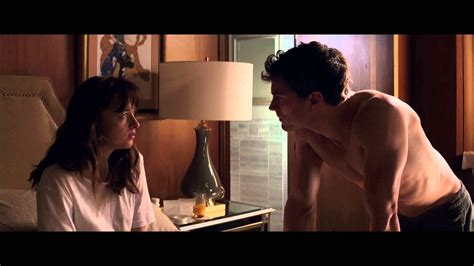 fifty shades of grey film length cinquante nuances de grey extrait 2 quot la chambre d h 244 tel