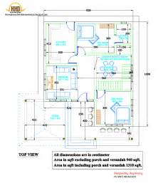 kerala home design 2d 2d house plan sloping squared roof kerala home design and floor plans