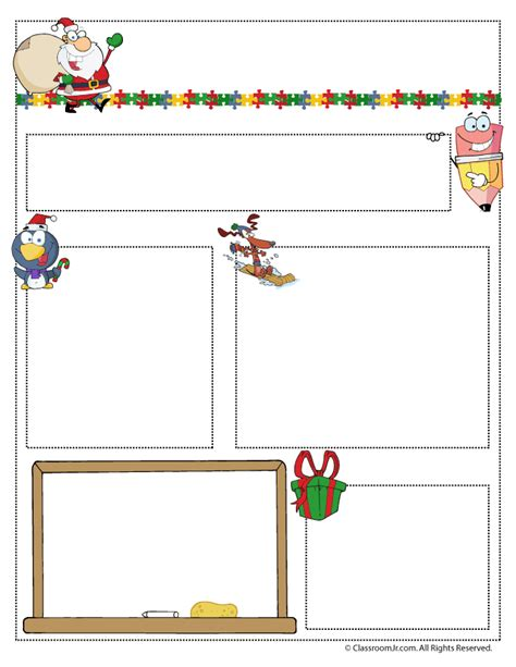 december newsletter template newsletter templates woo jr activities
