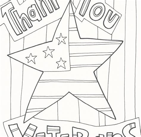 thank you veterans coloring page veterans day thank you printable coloring pages sketch
