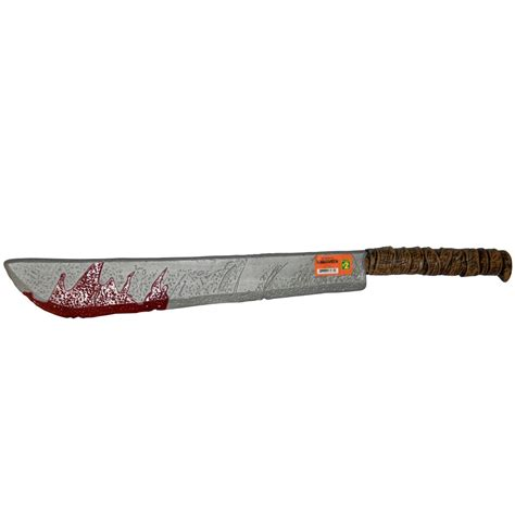 halloween plastic weapons horror tools toys bloody knife
