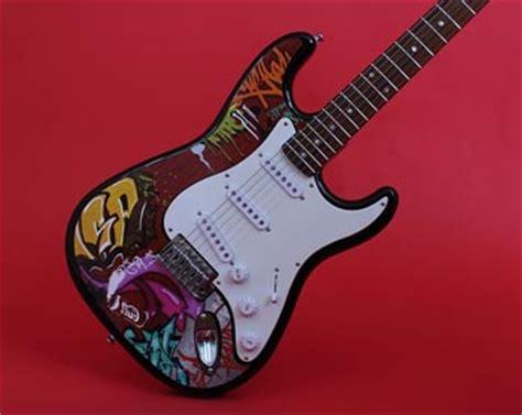 Gitarre Aufkleber Design by Facelift Die Gitarre Umgestalten