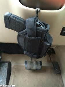 Steering Wheel Car Gun Holster Armslist For Sale Steering Wheel Handgun Holster And Mount
