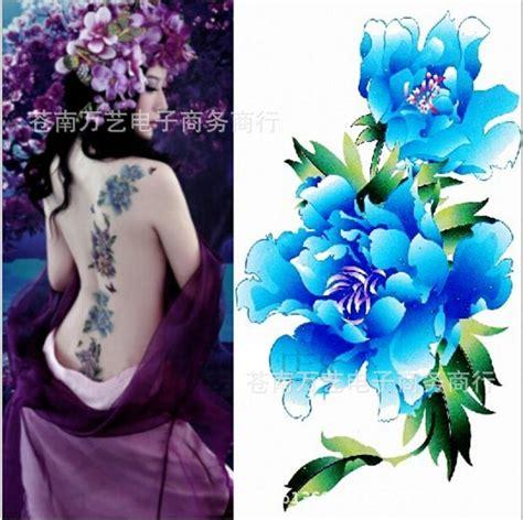 ali mau tattoo acquista all ingrosso online peonia tatuaggio da grossisti