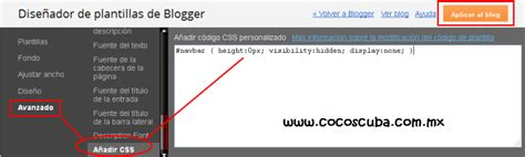 barra superior css navbar height 0px visibility hidden display none