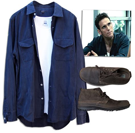 Screen Worn Wardrobe lot detail matt dillon screen worn wardrobe from the thriller takers with coa from