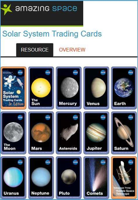 Gift Card System - space activities for kids