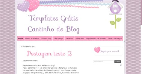 Template Gr Tis Soft Cantinho Do Blog | template gr 225 tis soft cantinho do blog