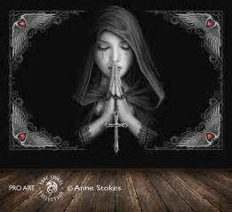 Disney Princess Wall Murals anne stokes gothic prayer 0 gprasw001