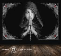 Anne stokes full wall murals gt anne stokes gothic prayer 0 gprasw001