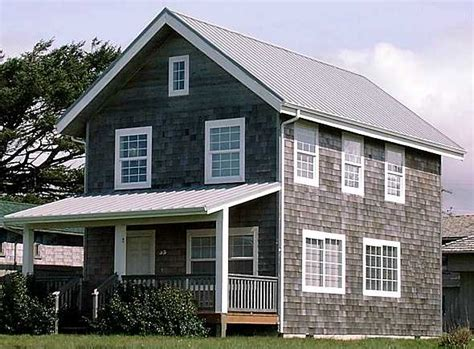 Two Story Cabin Plans by Universal 20 Wide 2 Story Cottage Plans