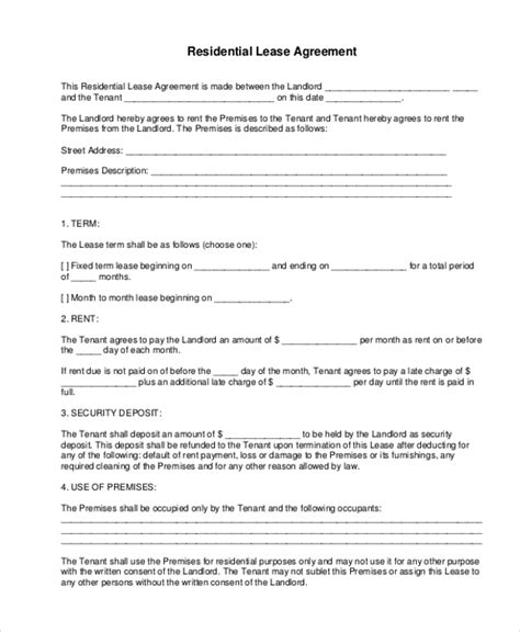 net lease agreement template net lease agreement template