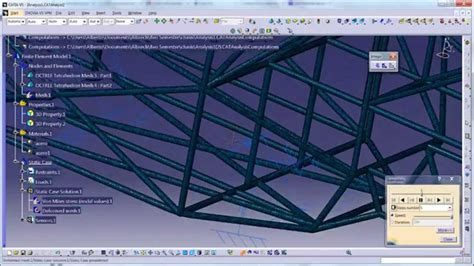 catia v5 structure design 123vid generative structural analisys catia v5 c69 youtube