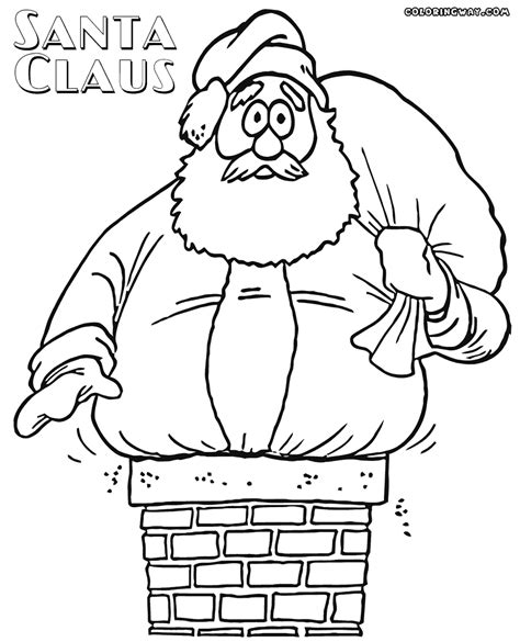 santa s view coloring book for everyone books santa suit coloring coloring coloring pages