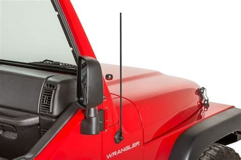 Jeep Antenna Stubbie Antenna Kit With Black Finish For 97 06 Jeep