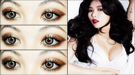 download video tutorial make up korea hyuna sexy quot red quot 빨개요 comeback makeup tutorial youtube