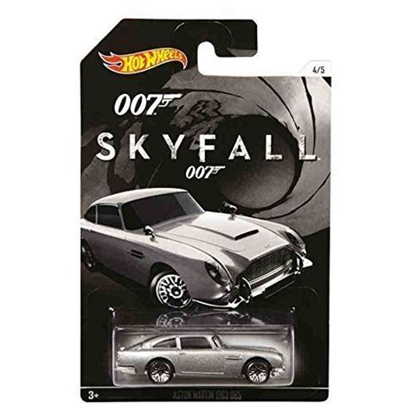 Aston Martin 1963 Dbs Merah Diecast Hotwheels bond skyfall 1963 aston martin db5 by wheels
