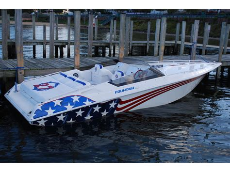 27 ft fountain boats for sale 2002 fountain fever powerboat for sale in new hshire