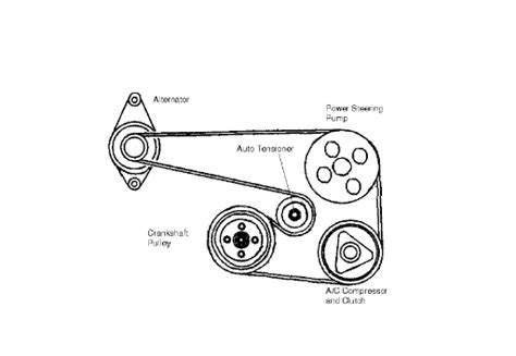 Auto Tensioner Fan Belt Orisinil Chevrolet Aveo Lova Kalos what are the procedures for replacing a serpentine belt for a 2005 chevy aveo