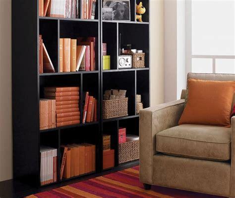 bookcase decorating ideas crate  barrel
