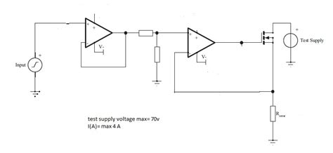 resistor value gate op how to find the current sensing resistor value for linear mosfet electrical